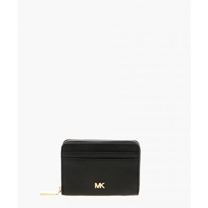 Image for Mott black leather coin purse