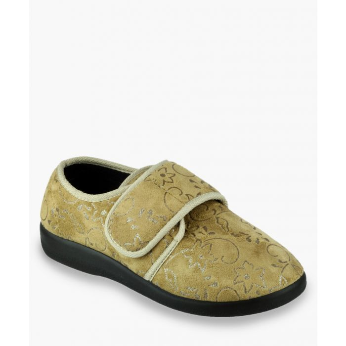 Image for Womens beige slippers