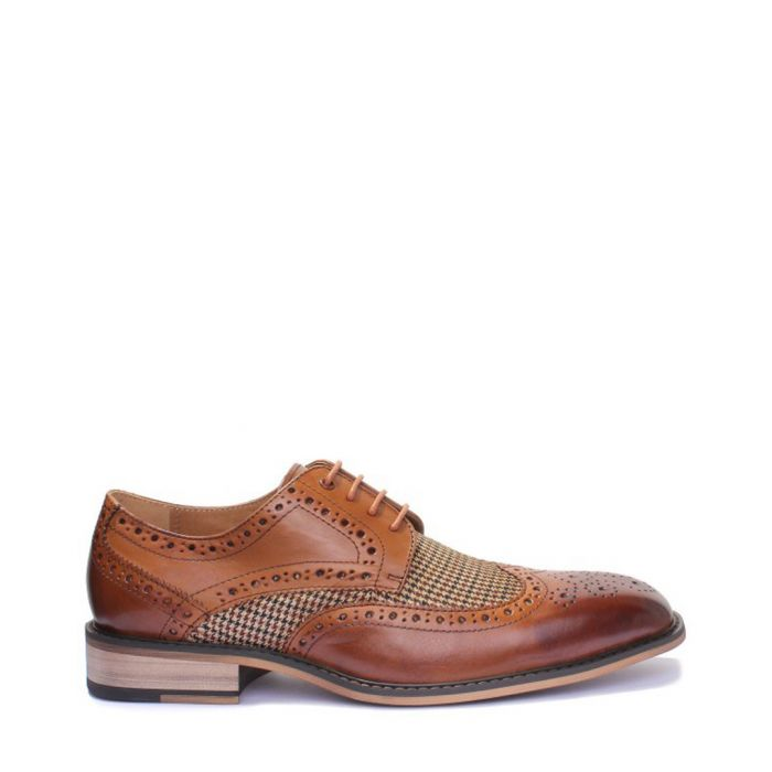 Image for Gerald brown leather Derby shoes