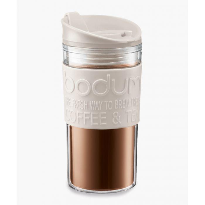 Image for Off-white travel mug 12 oz