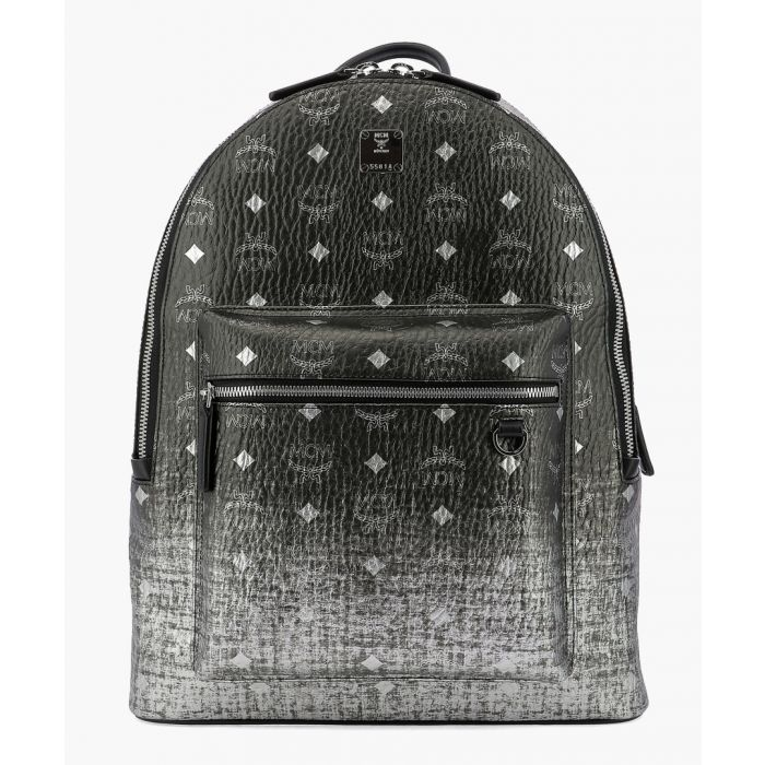 Image for Stark black embossed lion backpack