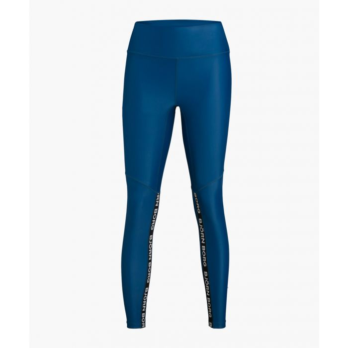 Image for Women's blue logo leggings