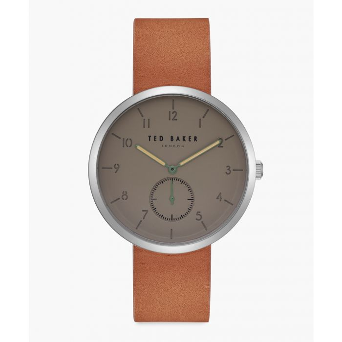 Image for Josh tan leather and stainless steel watch