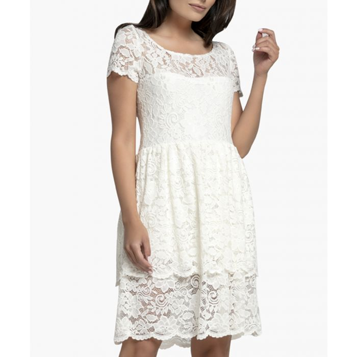 Image for Ecru Knitted Dress