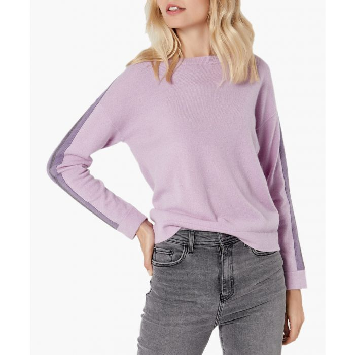 Image for Light purple pure cashmere jumper
