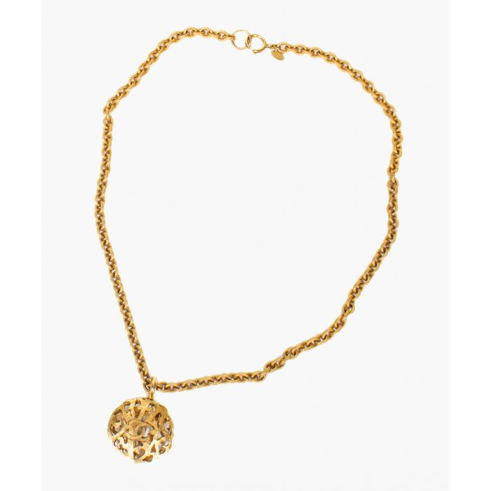 Image for Vintage gold-plated necklace