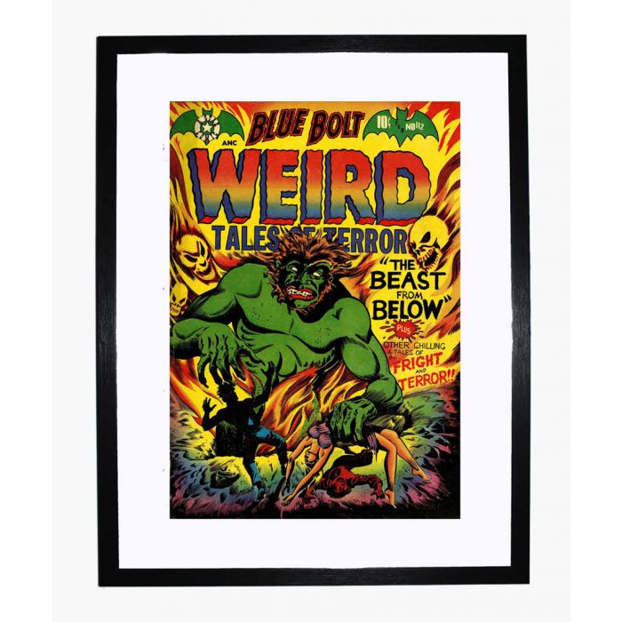 Image for Blue Bolt Weird 112 framed print