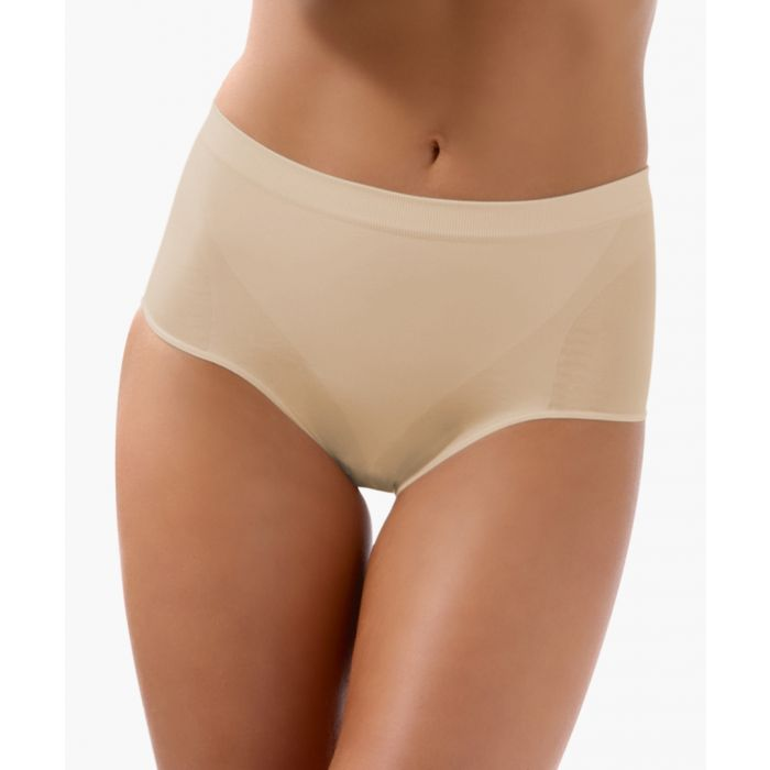 Image for Nude low-waisted shaping briefs