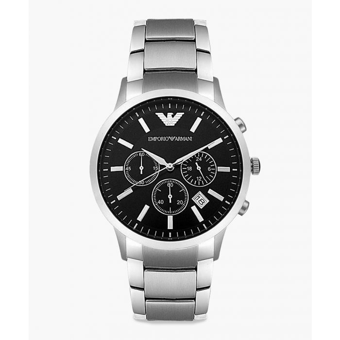 Image for Silver-tone chronographic watch