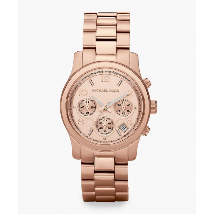 Image for Runway rose gold-tone steel stainless steel watch
