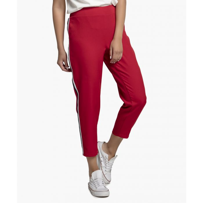 Image for Red Woven Trousers