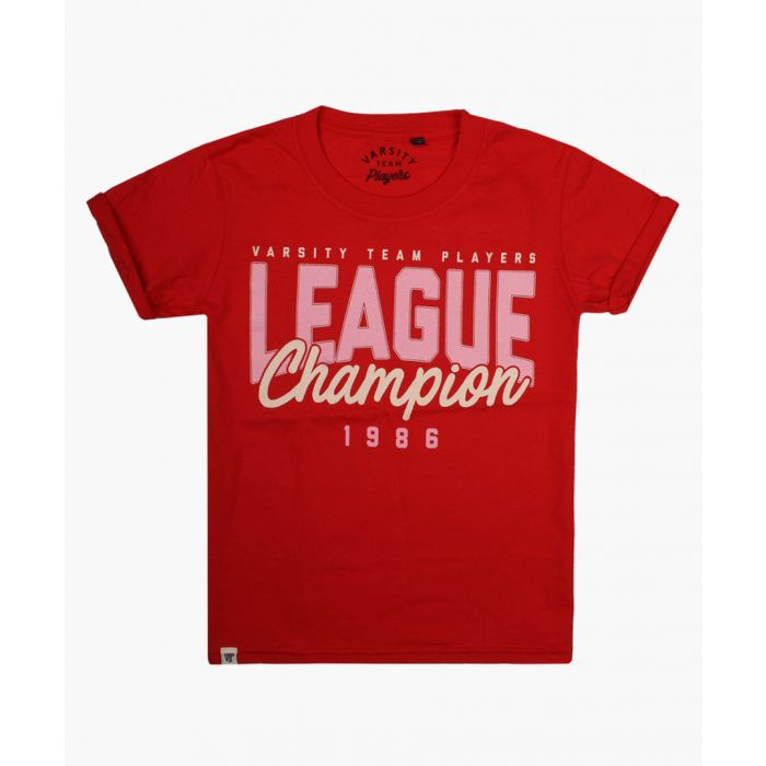 Image for Varsity League Champion red T-shirt
