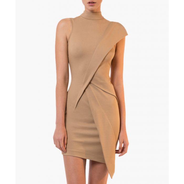 Image for Lorelai beige mini dress