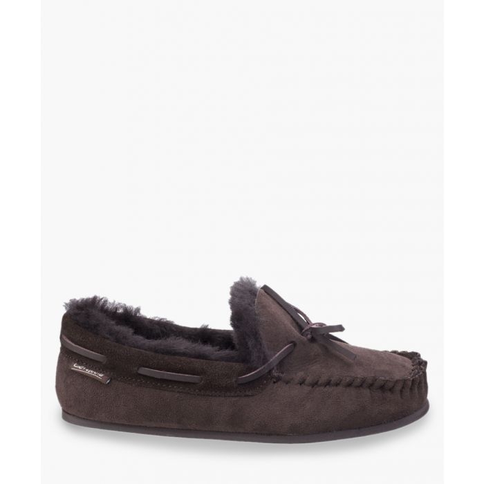 Image for Womens chocolate slippers