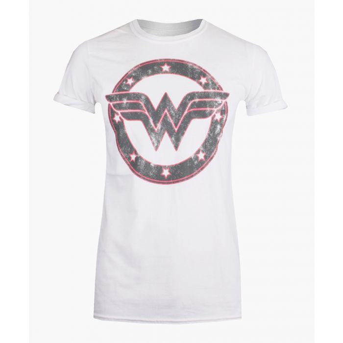 Image for WW emblem white cotton T-shirt