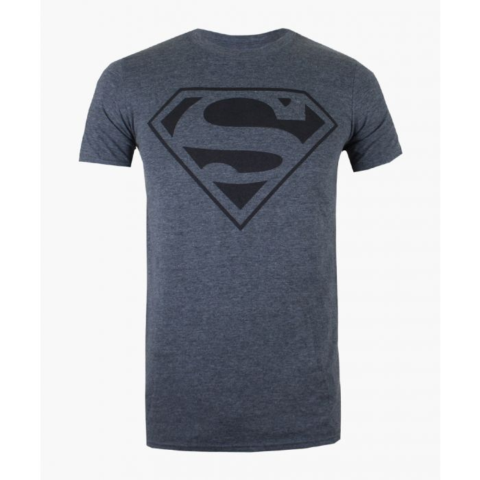 Image for Superman grey cotton blend T-shirt