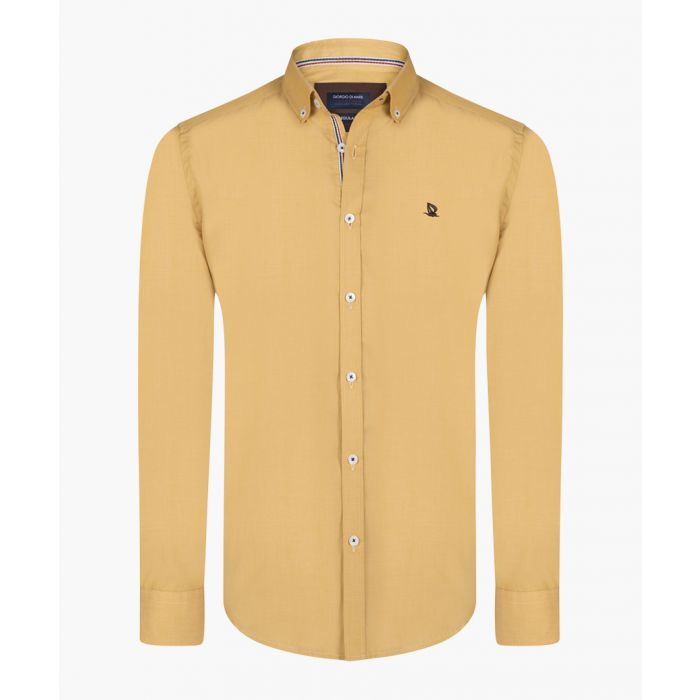 Image for Mustard and brown shirt