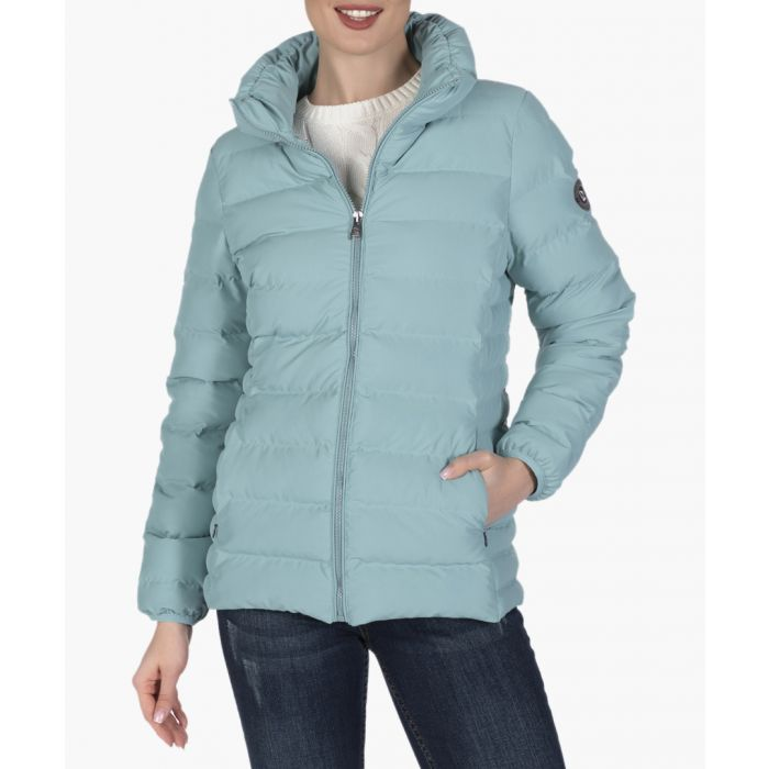 Image for Mint green cotton coat