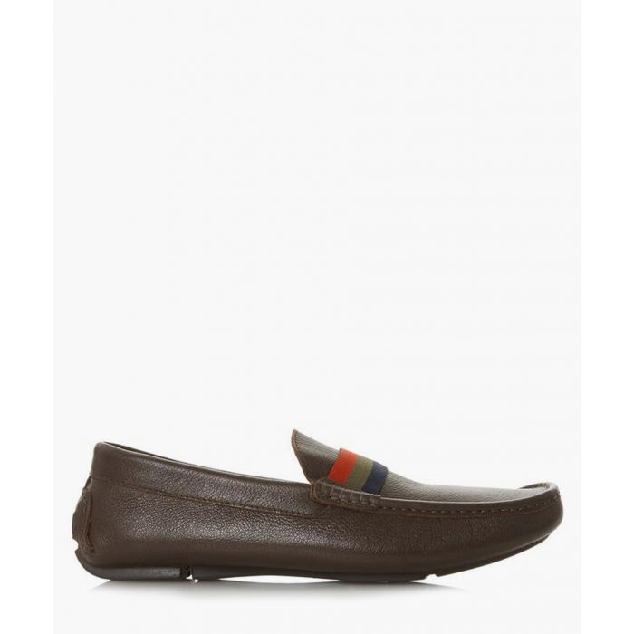 Image for Dune Billion Di brown leather loafers Footwear/Loafers brown-leather