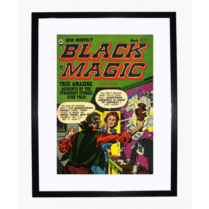 Image for Black Magic v2 04 framed print