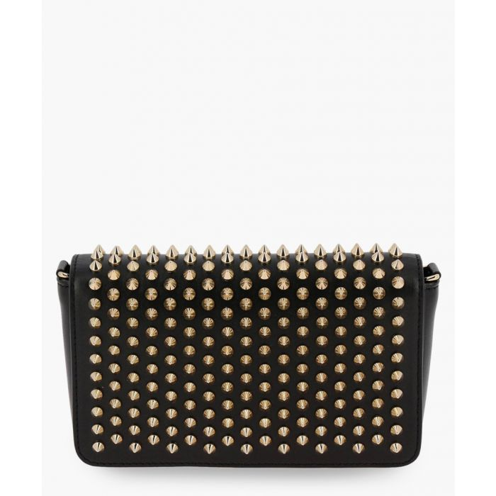 Image for Zoompouch Spikes black leather crossbody