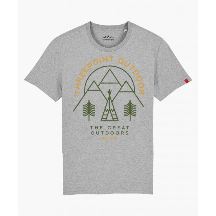 Image for Great Outdoors grey T-shirt