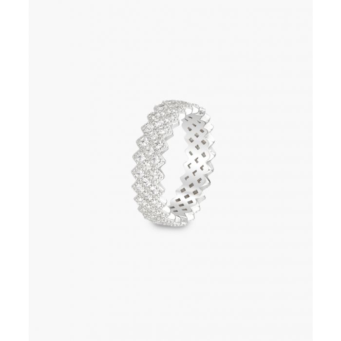 Image for Murano silver-plated ring