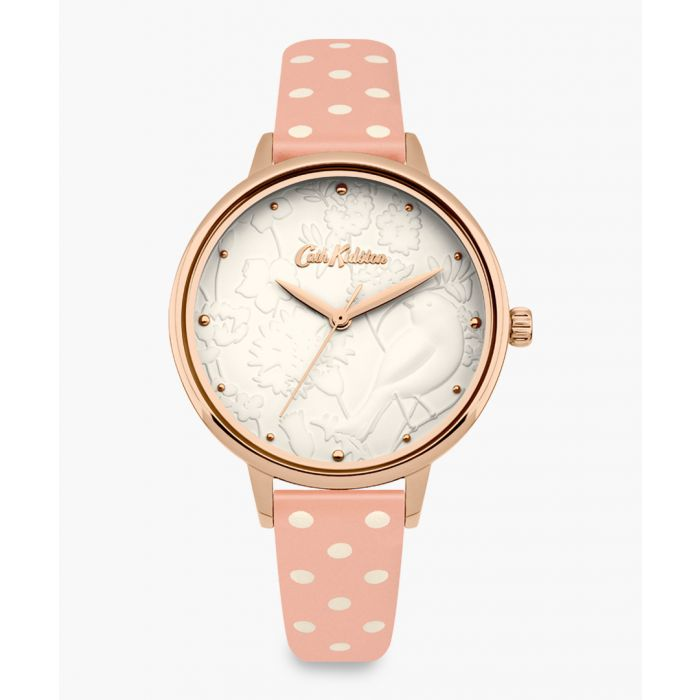 Image for Pink floral patterned watch