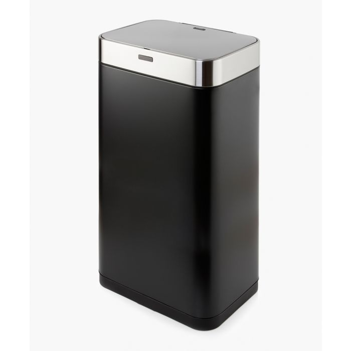 Image for Black rectangular sensor bin 75L