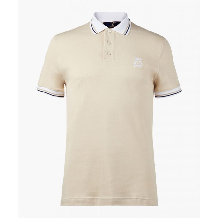 Image for Beige polo shirt