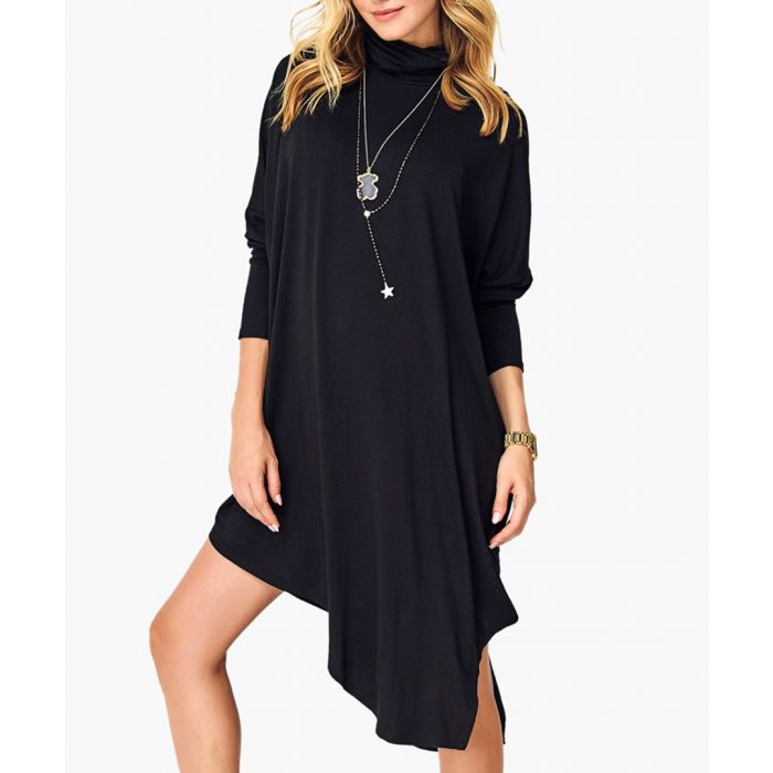 Image for Black Knitted Dress