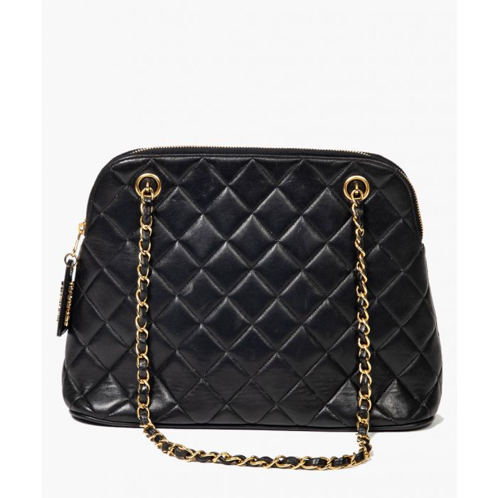 Image for Vintage black shoulder bag