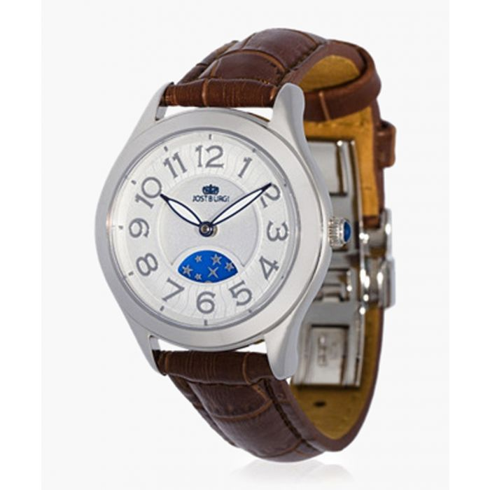 Image for Stella brown leather watch