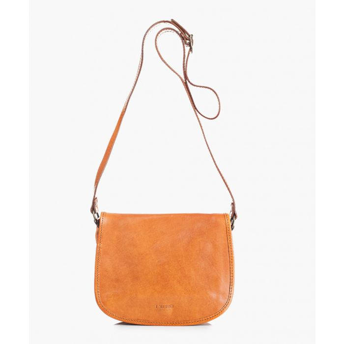 Image for Honey leather shoulder bag