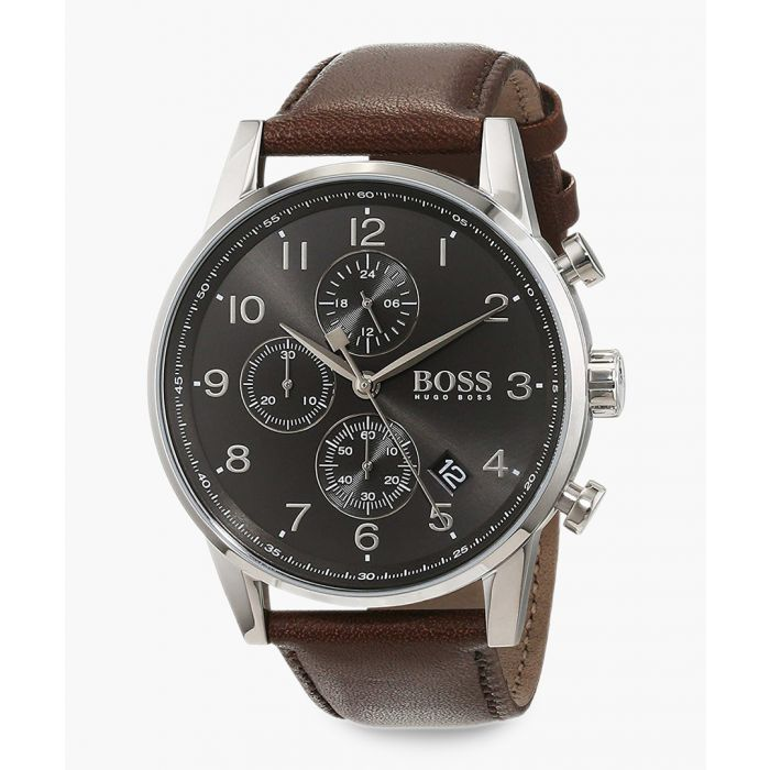Image for Dark brown & grey dial watch