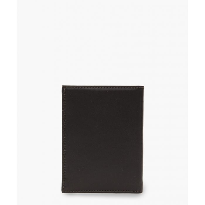 Image for Brown embossed logo wallet