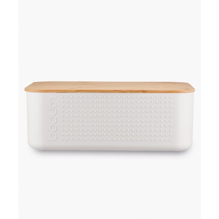 Image for Off-white small bread box