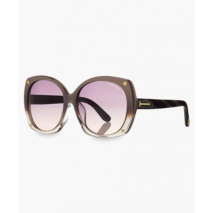 Image for Gabriella brown sunglasses
