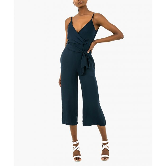 Image for Holiday jumpsuit in navy