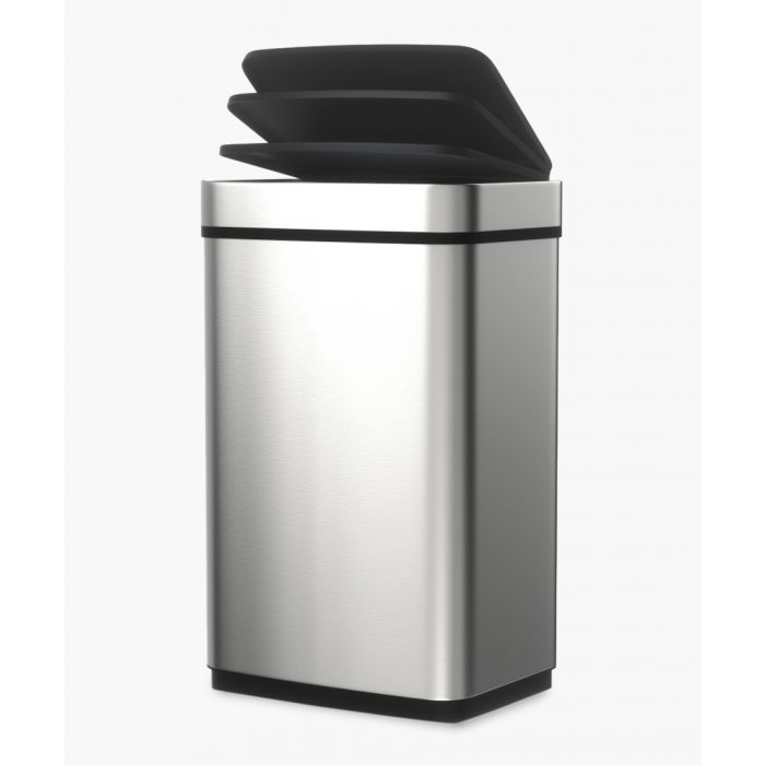 Image for Stainless steel sensor activated bin 60L