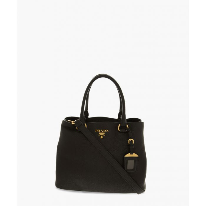 Image for Vitello Phenix black shoulder bag