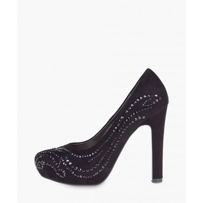 Image for Black leather pumps