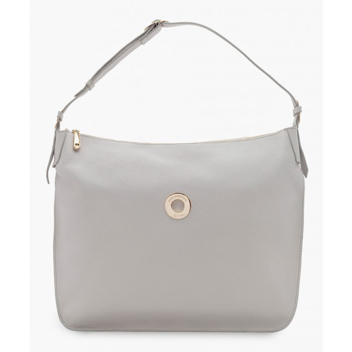 Image for Tagus white leather bag