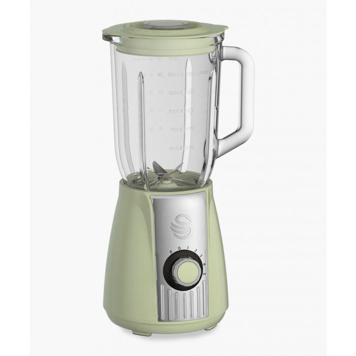 Image for Retro green stand blender