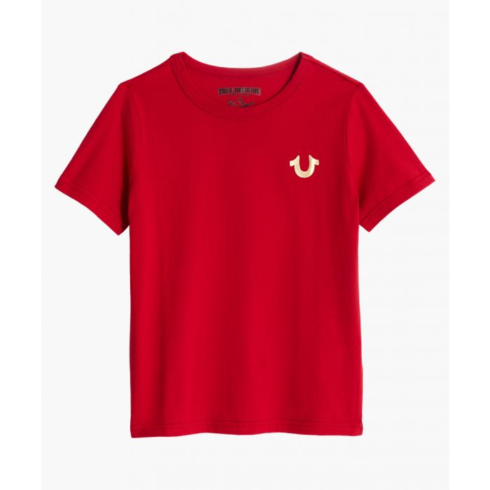 Image for Boys red logo T-shirt