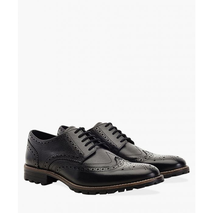 Image for Black new edenfield derby brogues