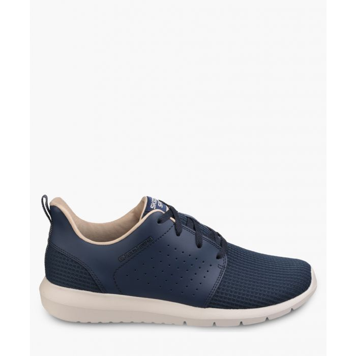 Image for Foreflex navy lace-up trainers