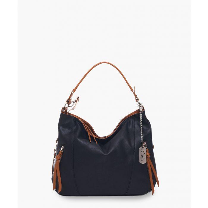 Image for Noalia black leather bag