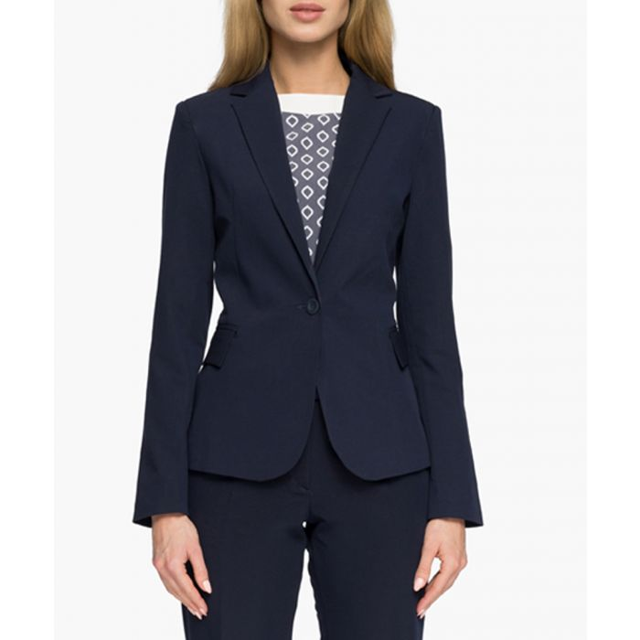 Image for Navy Blue Woven Jacket