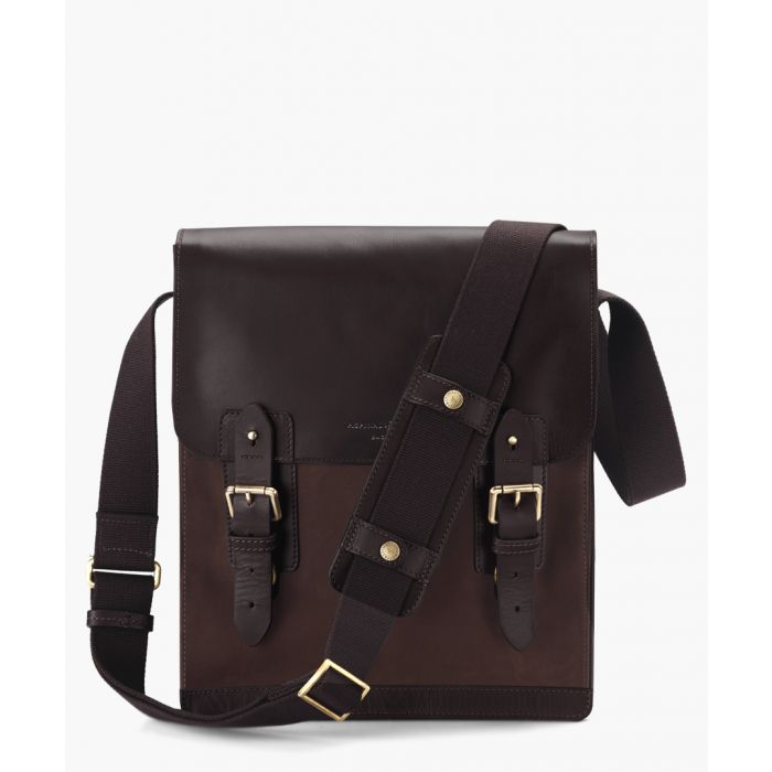 Image for Brown small nubuck bag